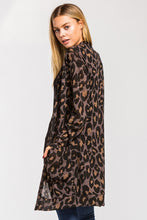 Load image into Gallery viewer, Lizzie Leopard Cardigan