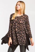 Load image into Gallery viewer, Maci Leopard Long Sleeve Blouse