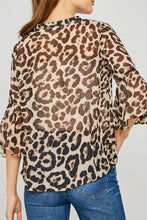 Load image into Gallery viewer, Nala Leopard Print Top
