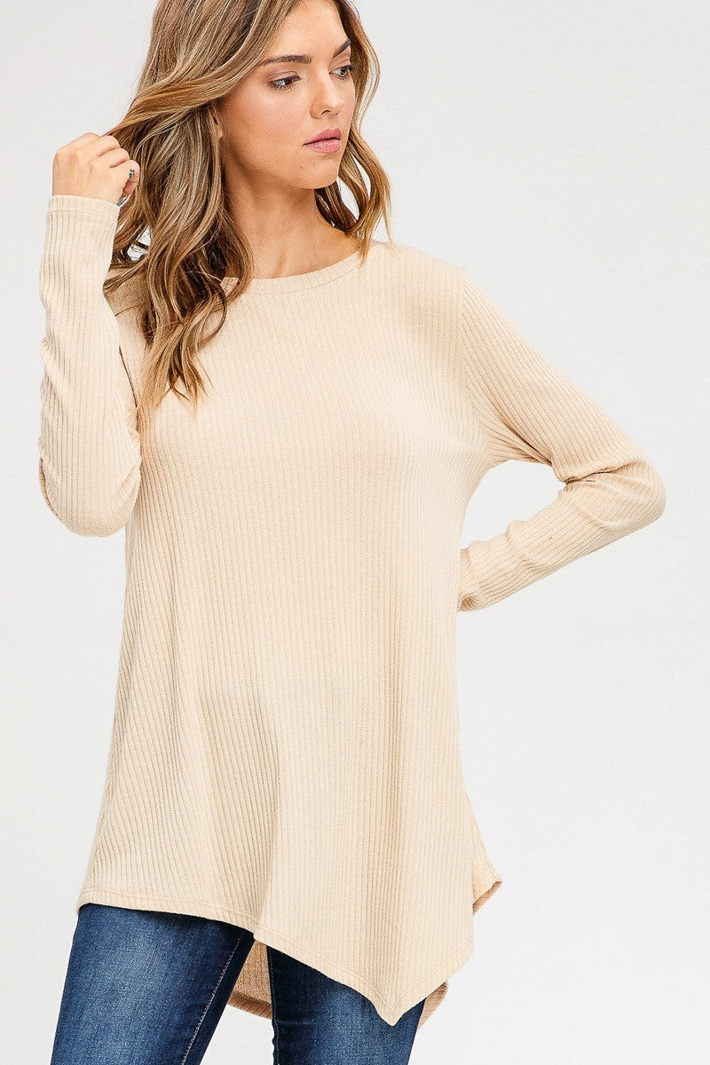 Summer Asymmetrical Hem Top