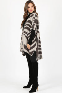 Tess Abstract Cardigan