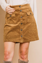 Load image into Gallery viewer, Tessa Cord Skirt
