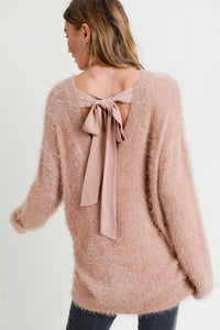 Valentina Tie Back Sweater