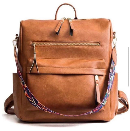Backpackin in Style in Tan