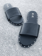 Load image into Gallery viewer, Mi.iM Khloe Studded Slide Sandal