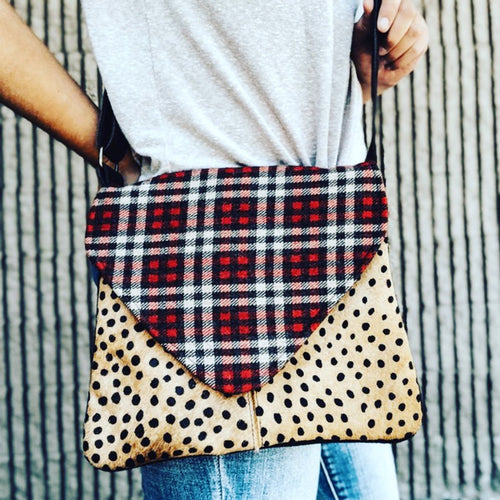 Cheetah/Plaid Handbag
