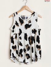 Load image into Gallery viewer, Moosh Leopard Print Top