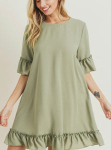 Little Green Machine Dress