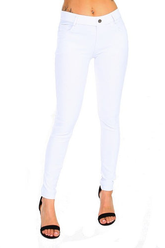 Yelete Jeggings in White