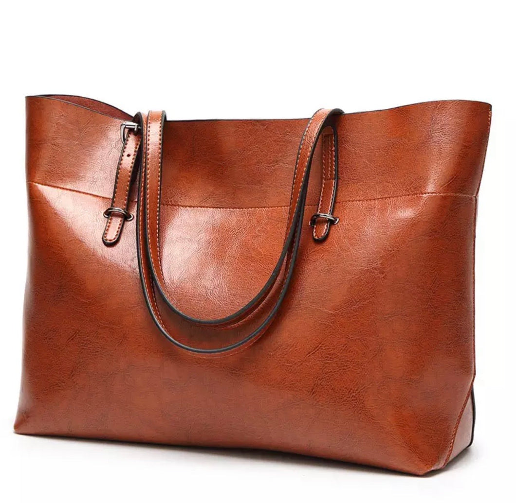 Walnut Large Tote