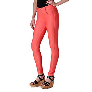 Yelete Jeggings in Coral