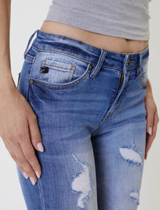 KanCan Distressed Skinny Jeans
