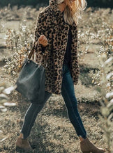Load image into Gallery viewer, Talia Leopard Fur Coat