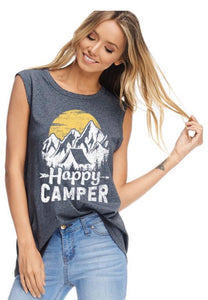 Happy Camper Graphic Tank
