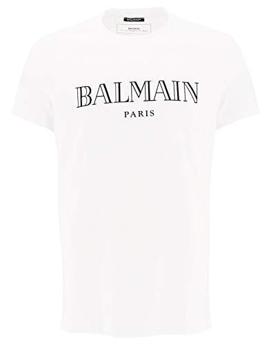 T-shirt Homme Balmain Blanc - amazing deal 4 you