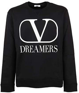 Sweat Homme luxe dreamers noir Valentino