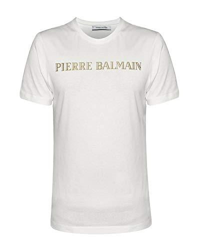 T-shirt Homme Pierre Balmain Blanc - amazing deal 4 you