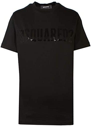 T-Shirt Femme luxe design noir Dsquared2 - amazing deal 4 you