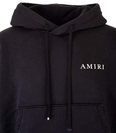 Sweat homme à capuche luxe noir Amiri - amazing deal 4 you