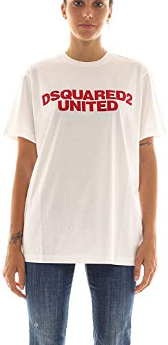 Tee-Shirt Femme luxe blanc united Dsquared2 - amazing deal 4 you