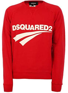 Sweat Homme luxe coton rouge Dsquared2 - amazing deal 4 you