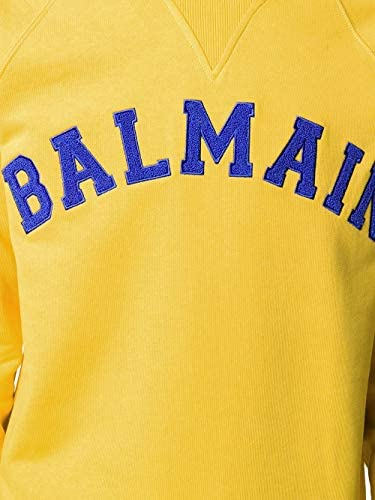 Sweat Homme luxe jaune Balmain - amazing deal 4 you