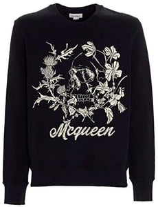 Sweat Homme luxe noir coton Alexander McQueen - amazing deal 4 you