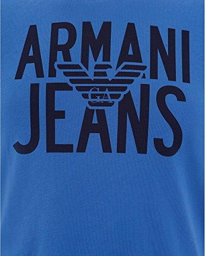 T-Shirt Homme Armani Jeans bleu - amazing deal 4 you