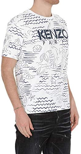 Tee Shirt Homme mode coton blanc Kenzo - amazing deal 4 you