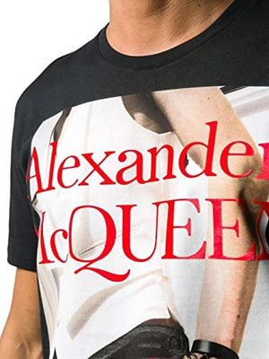 Tee Shirt Homme mode noir Alexander McQueen - amazing deal 4 you