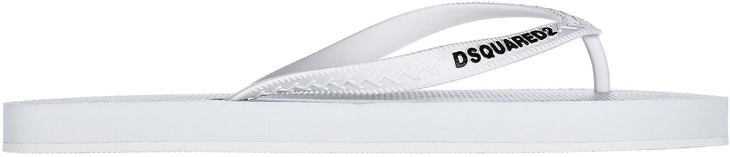 Tongs Homme Dsquared2 blanc - amazing deal 4 you