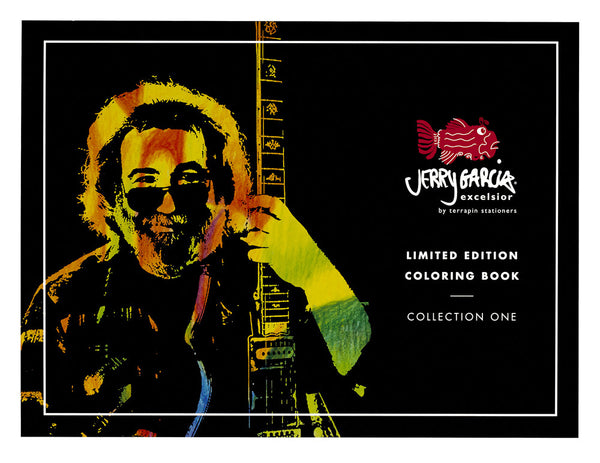 Jerry Garcia Excelsior® Coloring Book and Pencils