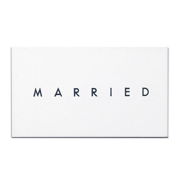 MARRIED/ENGAGED Calling Cards