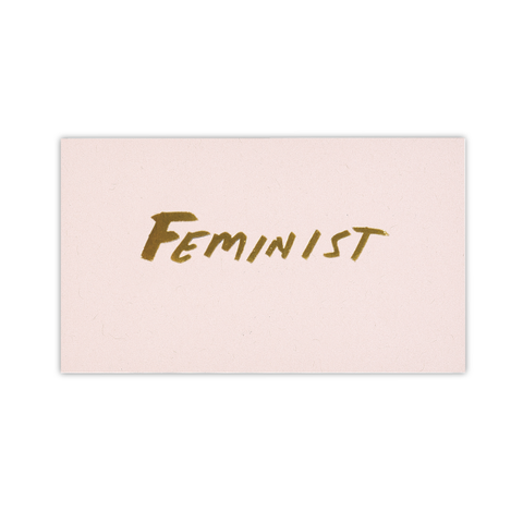 Samantha Hahn x Terrapin Stationers: Feminist Calling Card