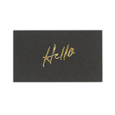 Samantha Hahn x Terrapin Stationers: Hello Calling Card