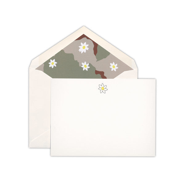 McNasty x Terrapin Stationers: Daisy Stationery