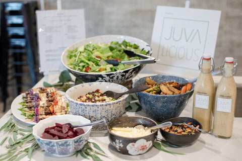 Zero Waste Salad Bar Juvalicious