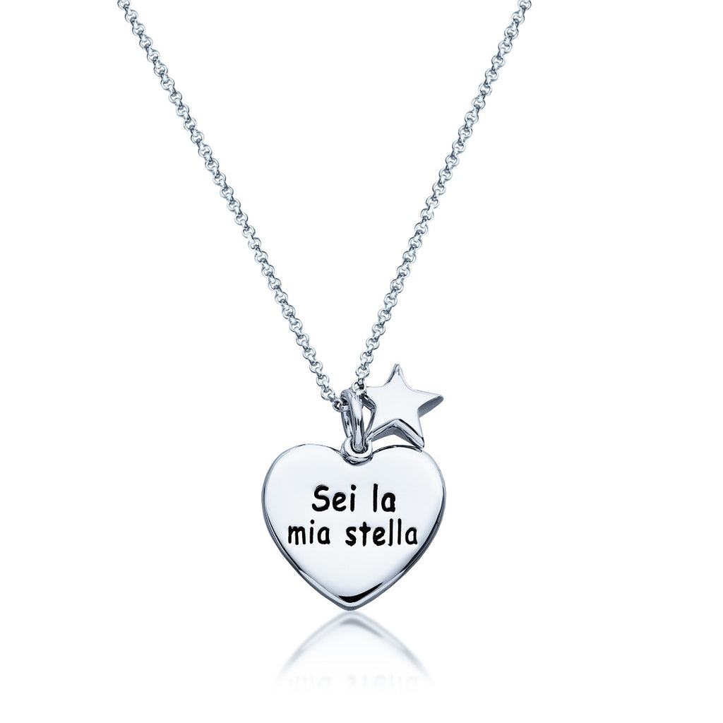 Italian-Inscribed .925 Sterling Silver Jewelry