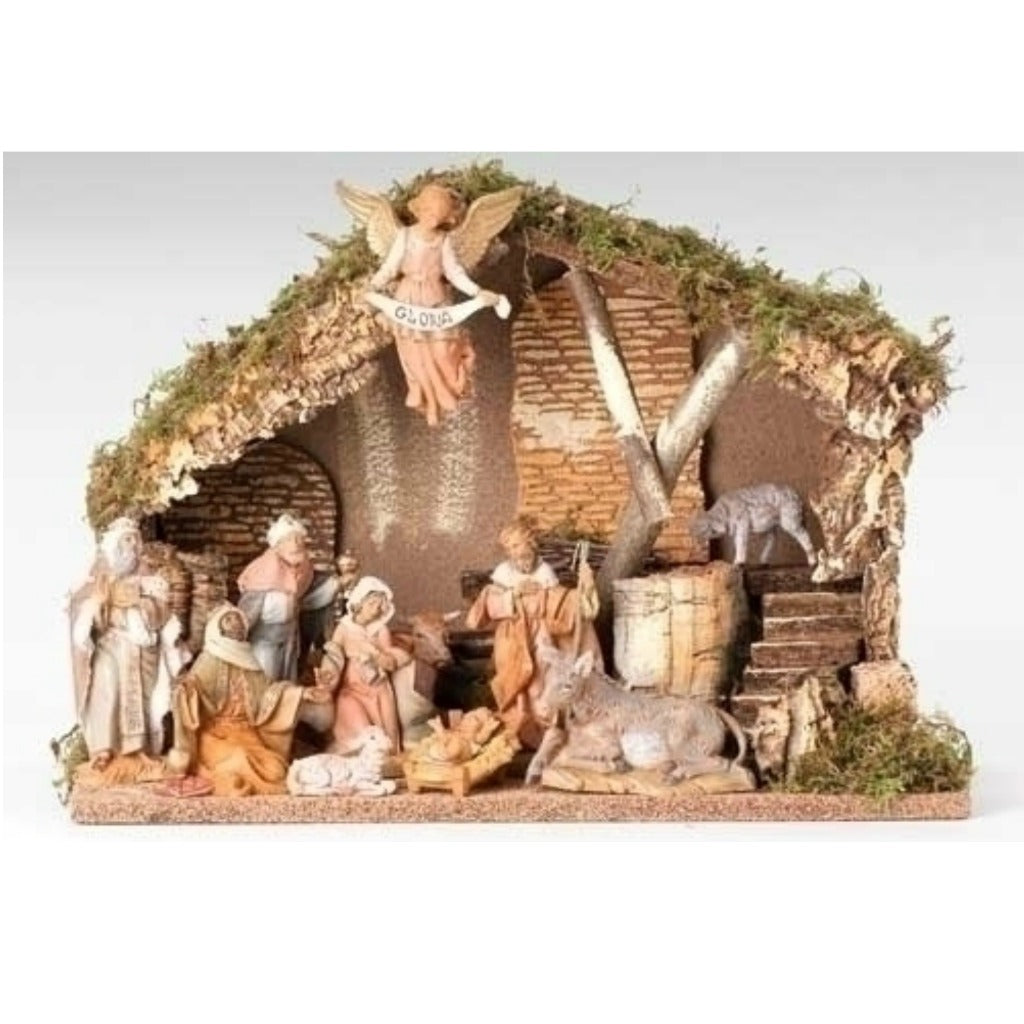 Fontanini - Eleven piece figure Nativity Set #54490