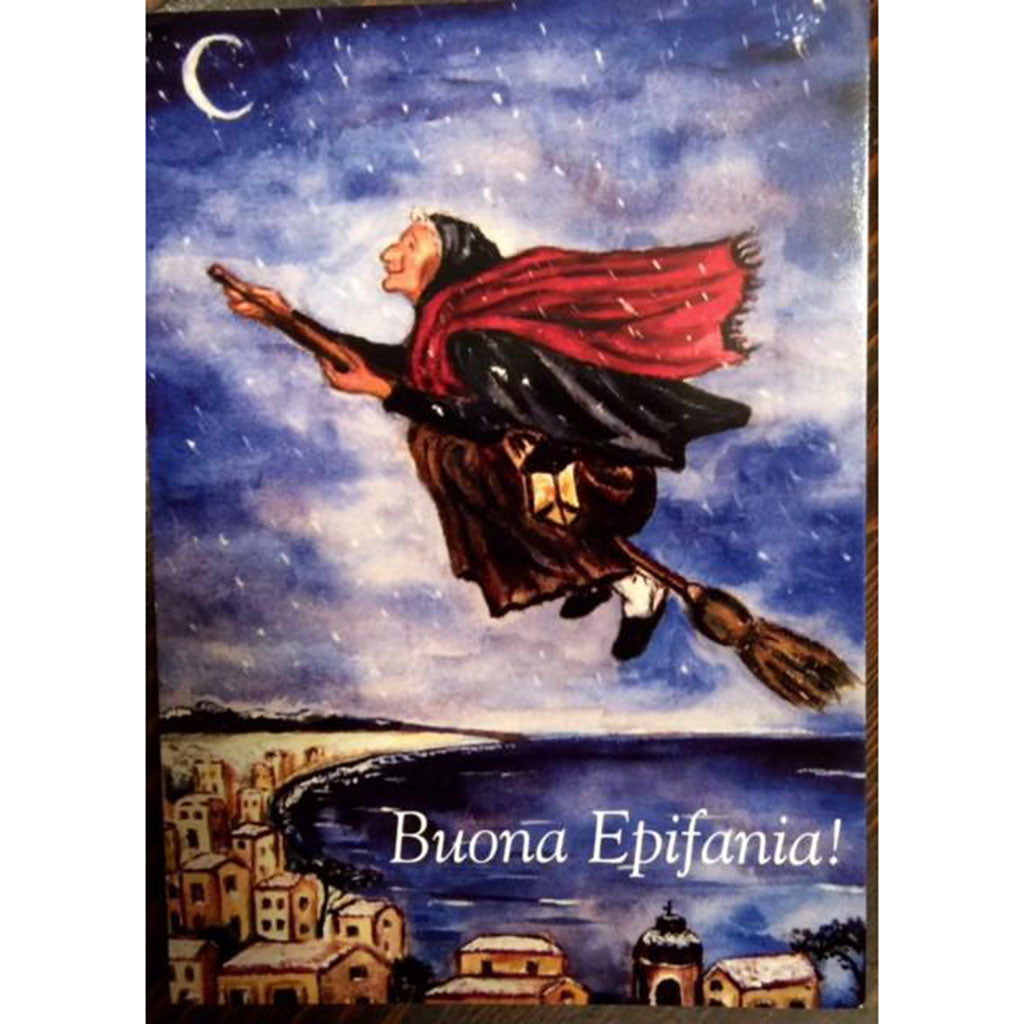 Buona Epifania Greeting Card Italian Childrens Market