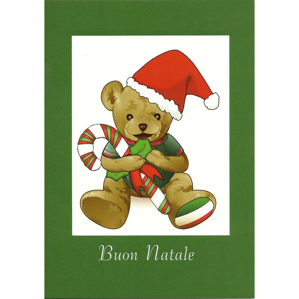 Buon Natale Greeting Card Italian Childrens Market