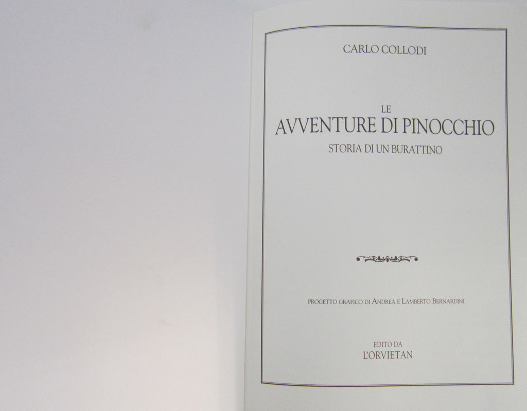 The Pinocchio Adventures (Avventure di Pinocchio)