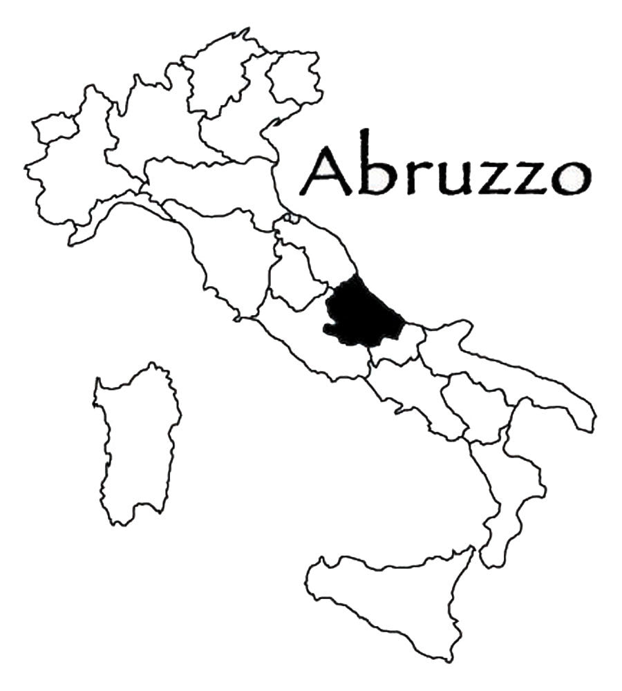 "Abruzzo (Region) Available in 10"" & 8"" size"