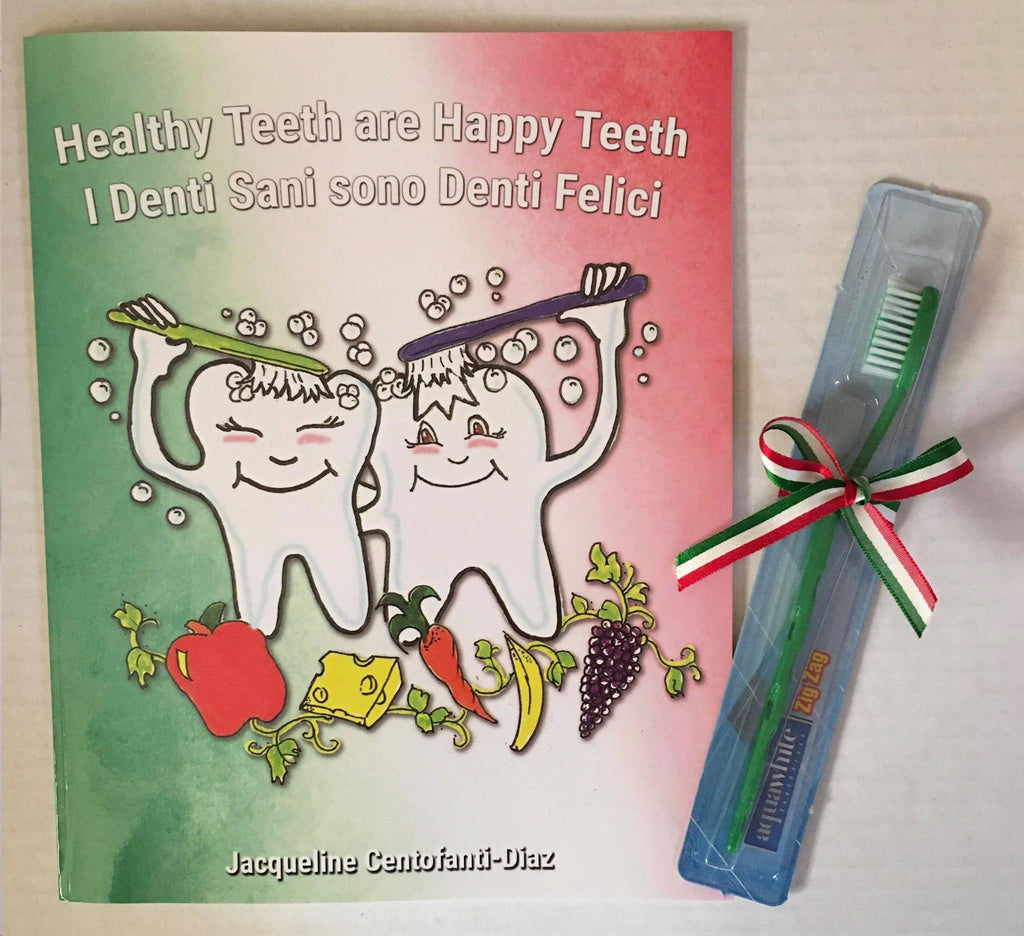Healthy Teeth are Happy Teeth (Bilingual)