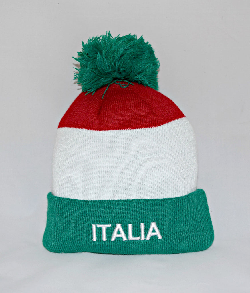 Tricolor Knit Hat (in infant, youth, and adult sizes)