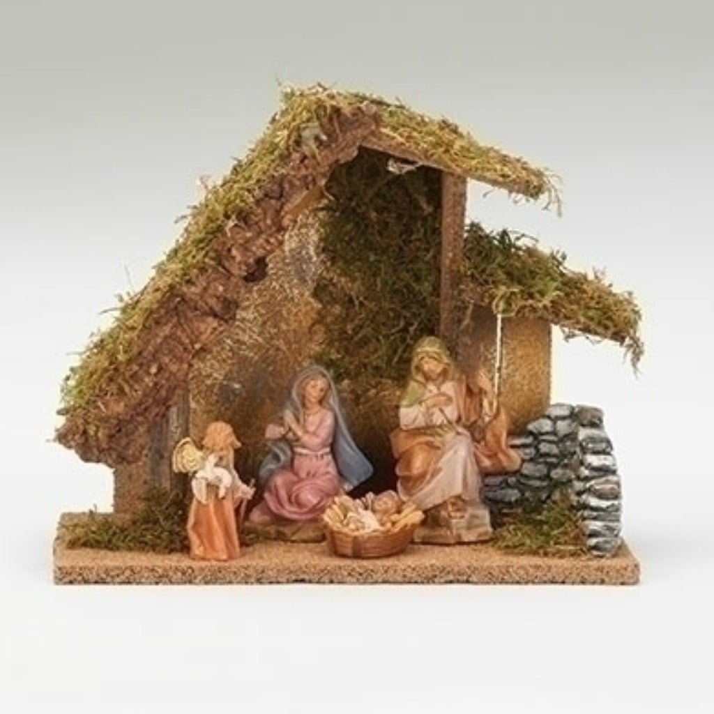Fontanini - Four Piece Figure Nativity Set # 54427