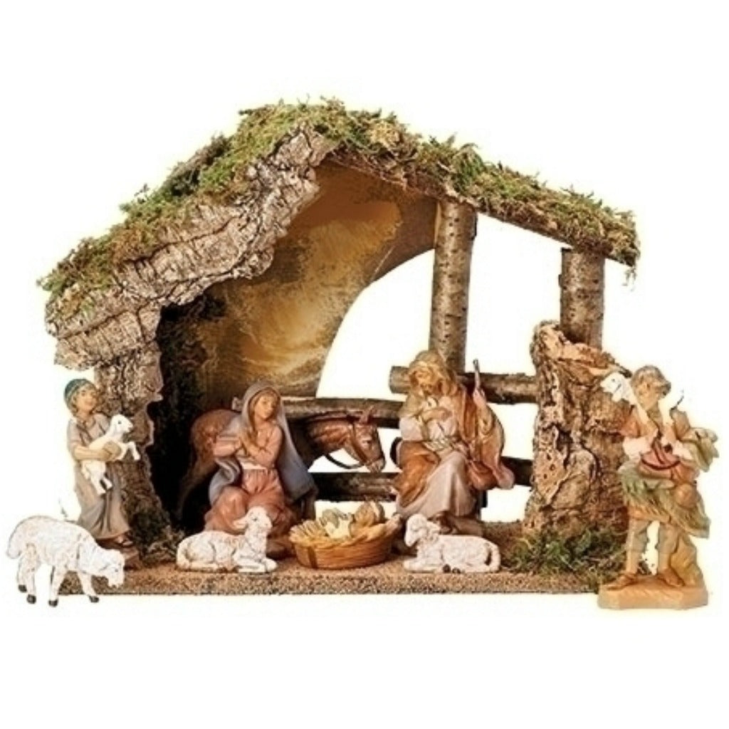 Fontanini - Nine Piece figure Nativity Set # 54426