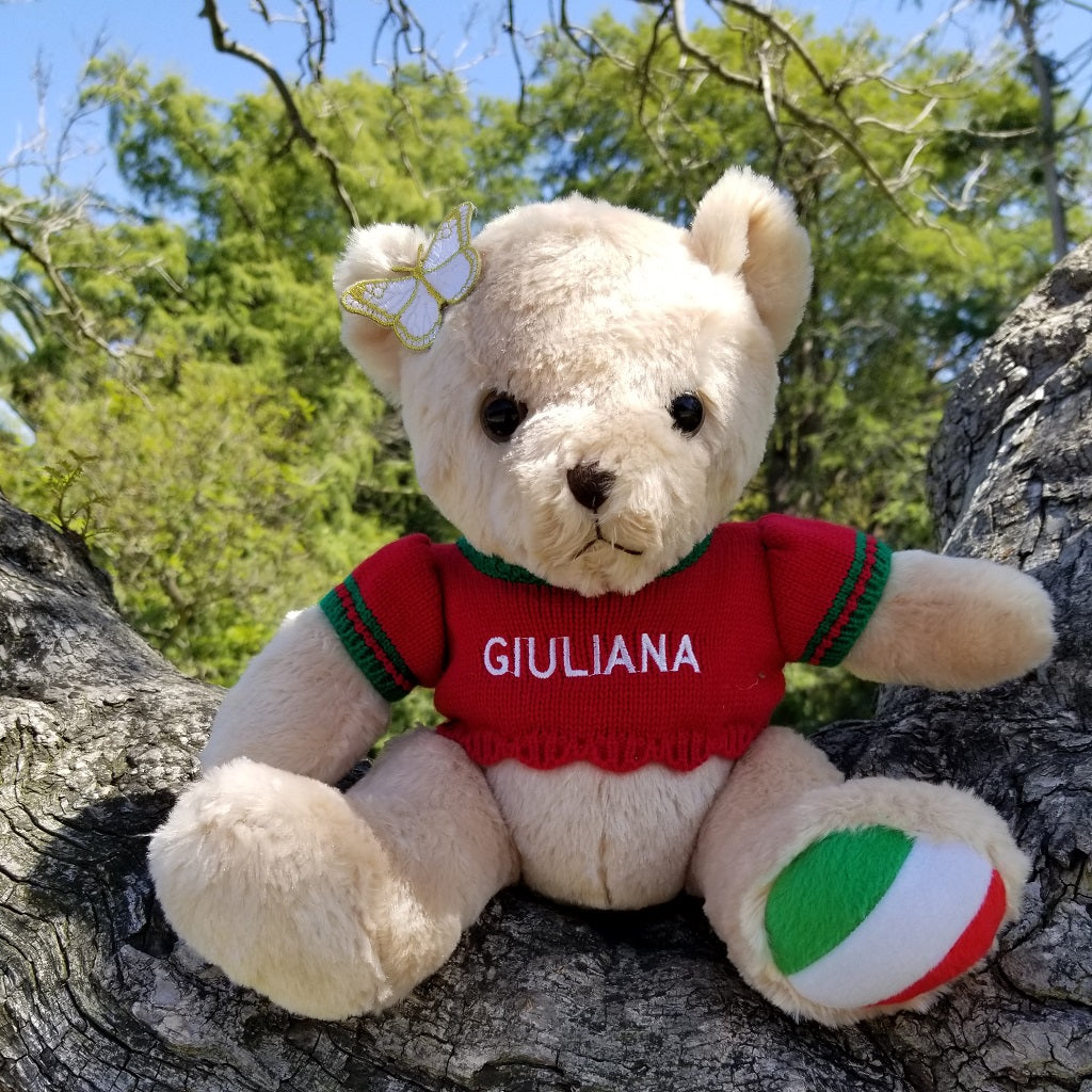Giuliana the Italian Speaking Bear