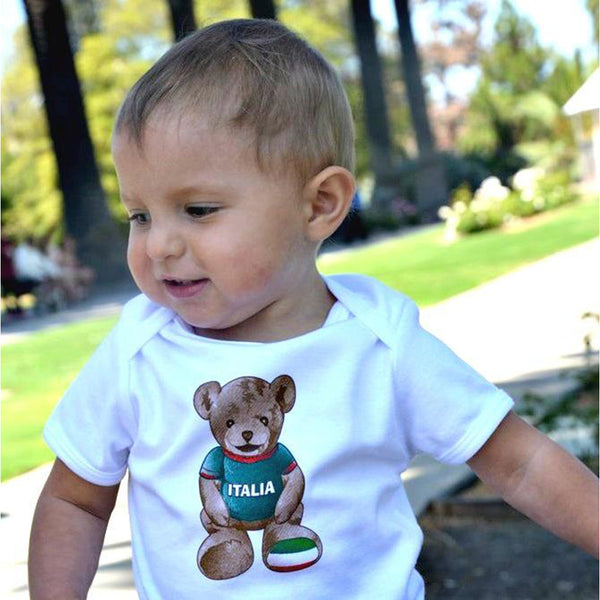 """Italia"" Giovanni the Bear Baby T-shirt"