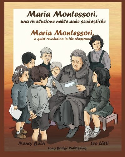 Maria Montessori- Bilingual picturebook